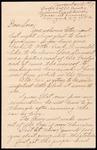 Albert W. Parsons Correspondence #1 by Albert W. Parsons