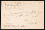 Albert W. Parsons Correspondence #2