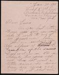 Albert W. Parsons Correspondence #3