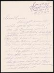 Albert W. Parsons Correspondence #6
