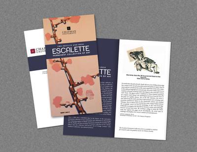 Escalette Permanent Collection of Art Brochure