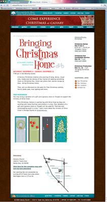 Calvary Church Christmas Production 2010