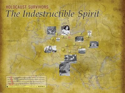 Holocaust Map - Chapman University