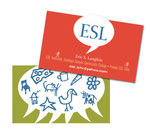 ESL Business Card by Eric Chimenti