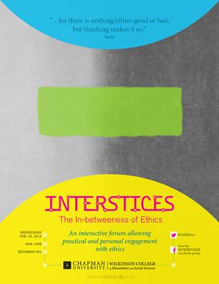 Interstices 2015 the Inbetween of Ethics #2