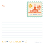 Kathy's Candle Labels #5 by Eric Chimenti