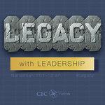 Legacy - A Study of Nehemiah #15