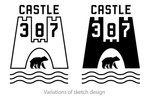 Castle 387 Logo #2 by Eric Chimenti