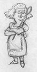 Granny Mamm's Character Design