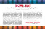 Resemblance 2018 Conference #2