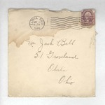 Jack P. Bell World War Two Correspondence #002 by Evabel Bell