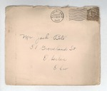 Jack P. Bell World War Two Correspondence #011 by Evabel Bell
