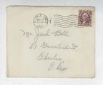 Jack P. Bell World War Two Correspondence #012