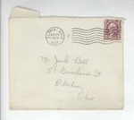Jack P. Bell World War Two Correspondence #013 by Evabel Bell