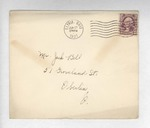 Jack P. Bell World War Two Correspondence #015 by Evabel Bell