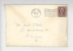 Jack P. Bell World War Two Correspondence #016 by Evabel Bell