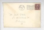Jack P. Bell World War Two Correspondence #016