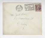 Jack P. Bell World War Two Correspondence #019 by Evabel Bell