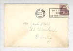 Jack P. Bell World War Two Correspondence #028