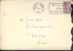 Jack P. Bell World War Two Correspondence #037