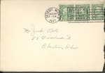 Jack P. Bell World War Two Correspondence #040