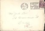Jack P. Bell World War Two Correspondence #044