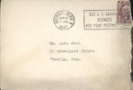Jack P. Bell World War Two Correspondence #051