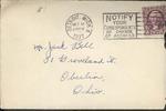 Jack P. Bell World War Two Correspondence #059