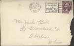 Jack P. Bell World War Two Correspondence #061