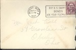 Jack P. Bell World War Two Correspondence #070
