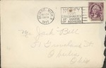 Jack P. Bell World War Two Correspondence #073