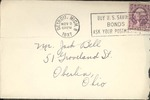 Jack P. Bell World War Two Correspondence #077