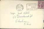 Jack P. Bell World War Two Correspondence #077