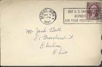 Jack P. Bell World War Two Correspondence #078