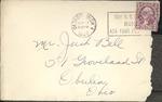 Jack P. Bell World War Two Correspondence #081