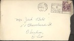 Jack P. Bell World War Two Correspondence #085