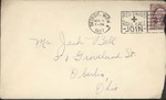 Jack P. Bell World War Two Correspondence #086
