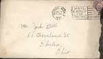 Jack P. Bell World War Two Correspondence #088