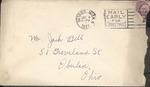 Jack P. Bell World War Two Correspondence #088