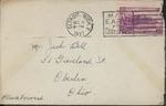 Jack P. Bell World War Two Correspondence #089