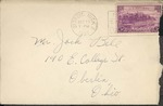 Jack P. Bell World War Two Correspondence #091