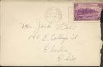 Jack P. Bell World War Two Correspondence #091
