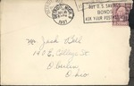 Jack P. Bell World War Two Correspondence #092