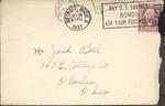 Jack P. Bell World War Two Correspondence #092