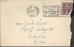 Jack P. Bell World War Two Correspondence #095