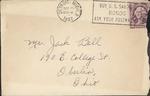 Jack P. Bell World War Two Correspondence #096