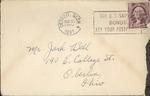 Jack P. Bell World War Two Correspondence #097
