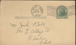 Jack P. Bell World War Two Correspondence #098