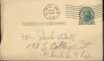 Jack P. Bell World War Two Correspondence #099