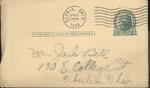 Jack P. Bell World War Two Correspondence #099